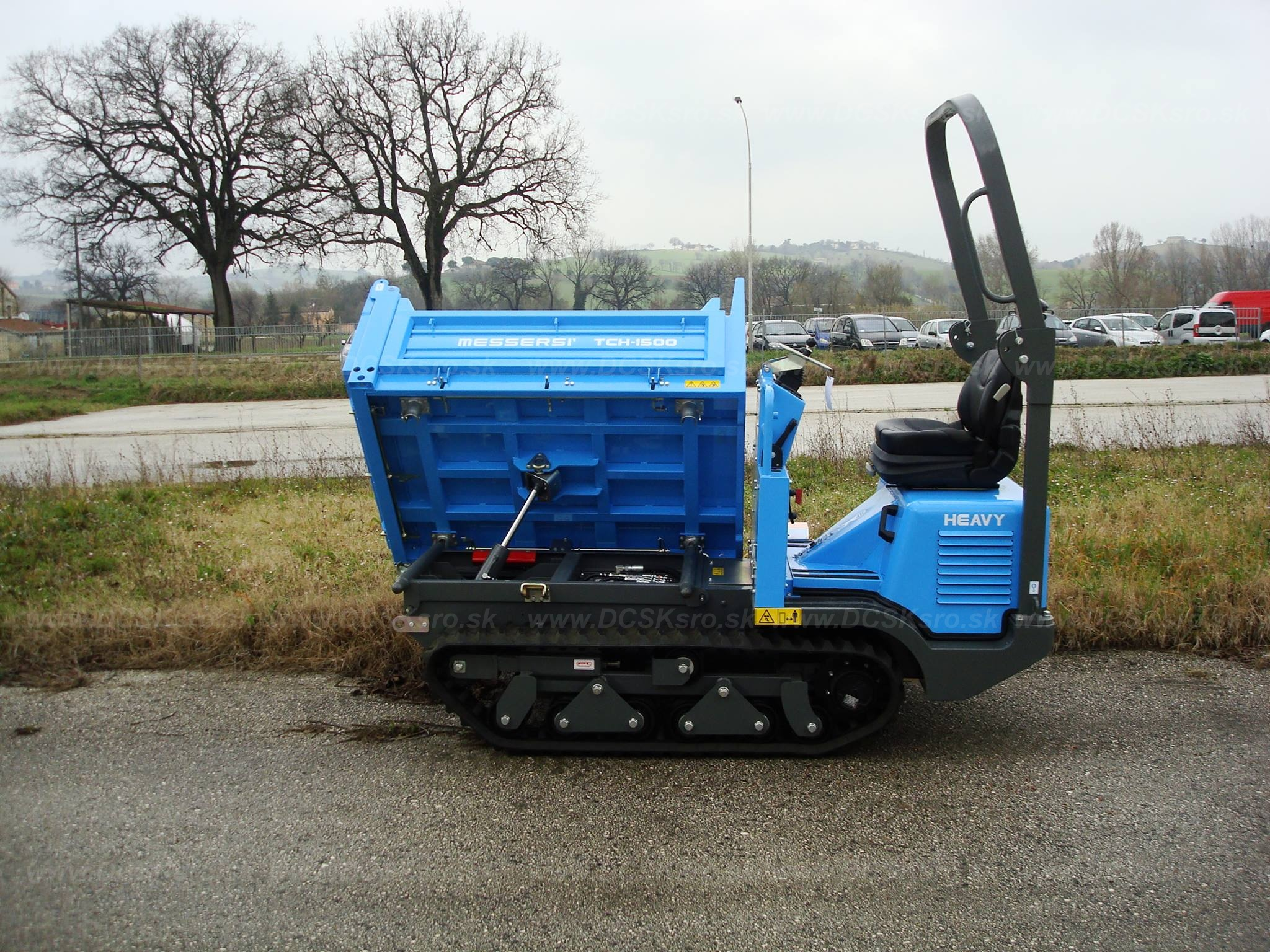 Dumper TC150d ALL TERRAIN LINE