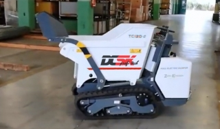DCSK profi tech dumper TC120e EVOLUTION LINE