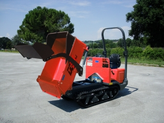 DCSK profi tech dumper TC150d ALL TERRAIN LINE